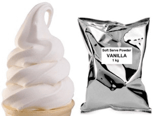 soft serve powder mix vanilla